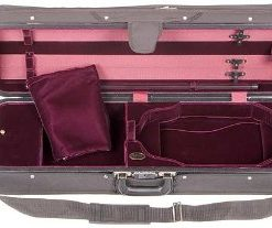 Bobelock Featherlite 1003 Oblong Black/Wine 4/4 Violin Case